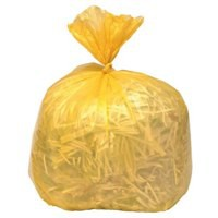 Polymax Refuse Sack 100gm Yellow Pack of 200 0863
