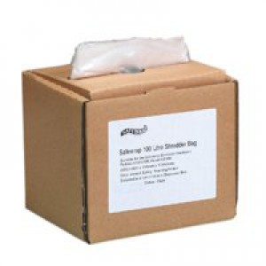 Safewrap Shredder Bag 100 Litre Pack of 50 RY0471