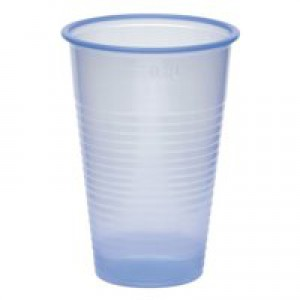 Nupik-Flo Water Cups 20cl Blue Pack of 1000 2193