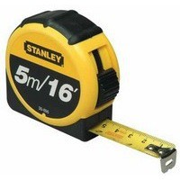 Stanley Retractable Tape Measure with Belt Clip 5 Metre 0-30-696