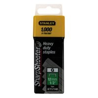 Image for Stanley Staples 12mm Pack of 1000 1-TRA708T