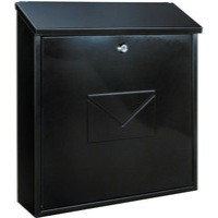 Image for Firenze Green Metal Mail Box