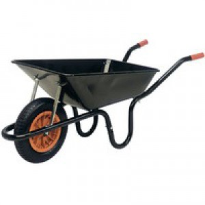 Heavy Duty Wheelbarrow Black 379990