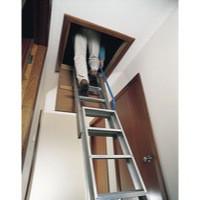 Loft Ladder 2540mm Aluminium 306685