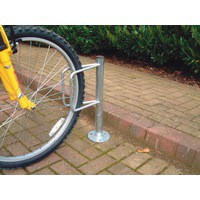 Image for Cycle Holder Post Mntd Bolt Down 306938