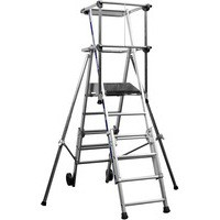 Image for Aluminium Telescopic Work Platform 223cm