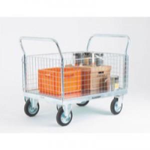 Platform Truck Premium 2 Detachable Mesh Sides 308467