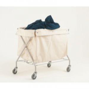 Trolley Distribution Linen Bag Grey 308611
