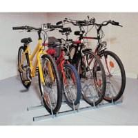 Image for Cycle Rack 3-Bike Capacity Aluminium 309715