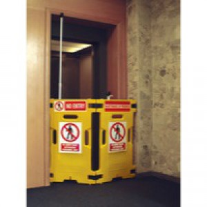 Barrier Elevator Guard Set of 2 Yellow 309856