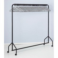 Image for 30 Hanger Garment Rail Black 311418