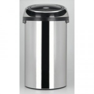 Touch Bin 50 Litre Chrome 311734