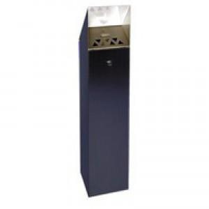 Hooded Top Tower Bin 6.6 Litre Black 317469