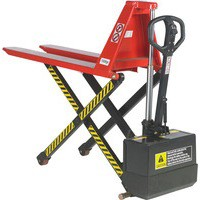 Pallet Truck Electric Lift 680x1140mm Red 318031
