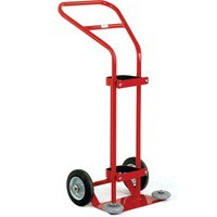 Oxygen Cylinder Trolley 1360 Litre Red 320669