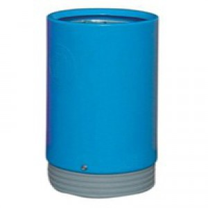 Outdoor Open Top Bin 75 Litre Blue 321777