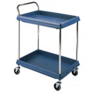 Deep Ledge Trolley PBC2636-2Dbu 2-Tier Blue 322448