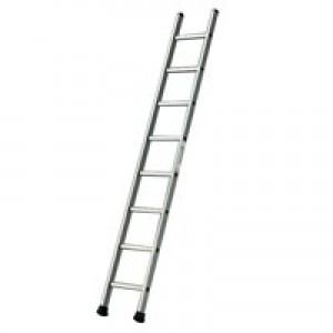 Single Section Aluminium Ladder 2410mm 8-Rungs 323138