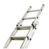 Two Section Push-up Aluminium Ladder 16-Rung 323139