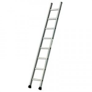 Single Section Aluminium Ladder 2410mm 12-Rungs 323142