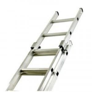 Two Section Push-Up Aluminium Ladder 24-Rung 323143