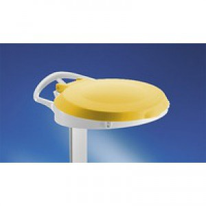 Plastic Round Lid for Smile Yellow 348034