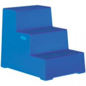 Plastic Safety Step 3-Step Blue 325098