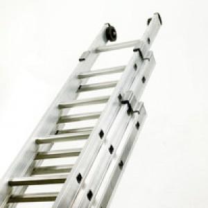 Push-Up Aluminium Ladder 3-Section 2423/012 328667
