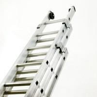 Push-Up Aluminium Ladder 3-Section 2423/014 328668