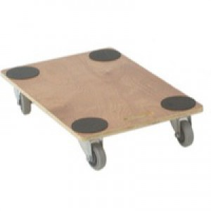 Plywood Dolly 760x460x135mm Brown 329333