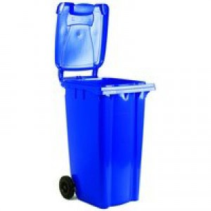 Refuse Container 80 Litre 2-Wheel Blue 331261