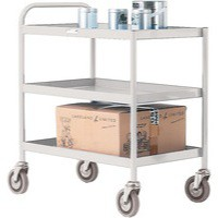 General Purpose Trolley 3 Tier Grey 331492