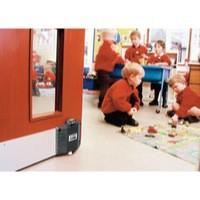 Image for Dorguard Fire Door Retainer Black 347464