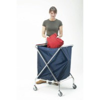 Linen Truck Medium 150 Litre Blue 348007