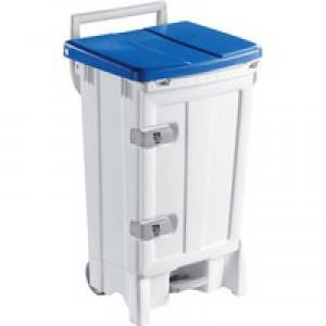 Open Front Bin 90 Litre Blue/Grey 356696