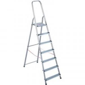 Alumiunium Step Ladder 8 Steps Plus 358742