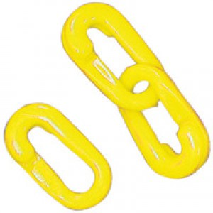 Connecting Links 8mm Joint Pack of 10 Yellow 360086
