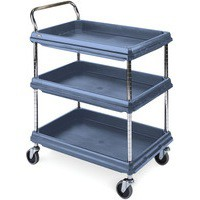 Deep Ledge Trolley Microban 3-Tier 360967