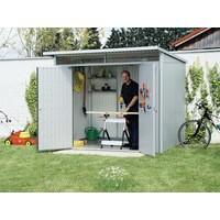 Image for VFM Large Metallic Garden Storage Shed