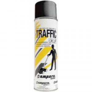 Traffic Paint Black Pack of 12 373885