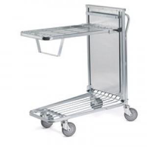 In Store Trolley Spring Tray Metallic Grey/Blue 375425