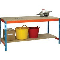 Image for Blue/Orange L1800xW750xD900mm Workbench