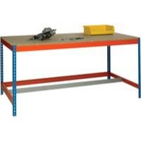 Image for Blue/Orange L1800xW750xD900mm Workbench