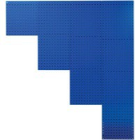 Image for Perforated 990mm Blue Tool Panel 380949