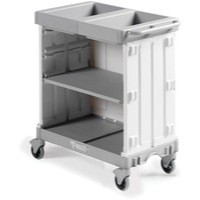 Compact Maid Service Trolley Magic Hotel 381650