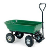 Dumping Cart 125 Litre Green/Black 382074