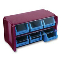 Image for Classifiers Stackable Clear Drawer Unit 382597