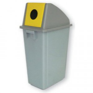 Waste Paper Gathering Bin C 58 Litre 383014