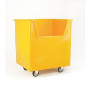 Order Picking Trolley Yellow 383270