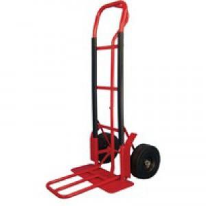 Hand Truck Steel/Polyurethane Red 383509